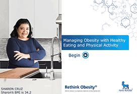 Managing Obesity with Healthy Eating and Physical Activity