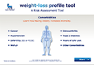 Weight-loss profile and risk assessment tool