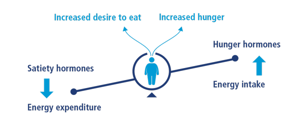 Role of hormones in regulating appetite